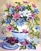 Картина по номерам 'Цветочная поэзия', 40х50см, (КН2049)