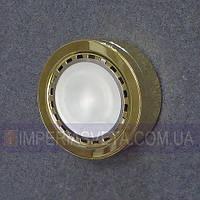 Мебельный светильник, подсветка IMPERIA галогенная накладная со стеклом LUX-124655