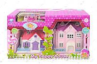 Кукольный дом 8051 с куклами,мебелью
