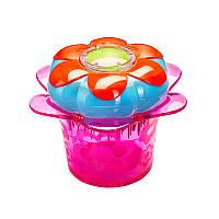 Расческа Tangle Teezer Magic Flowerpot Popping Purple цвет фиолетовый