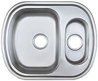 Мойка кухонная Platinum 6049D_0,8 mm (сатин)