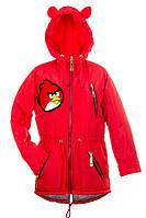 Весенняя куртка парка для девочек