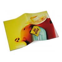 Кожаная обложка для паспорта/загранпаспорта -BonVoyage-
