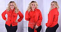 Модная женская блузка,размеры 42-52