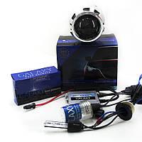 Комплект: линзы биксеноновые Morimoto и ксенон Galaxy. Полный комплект для установки.