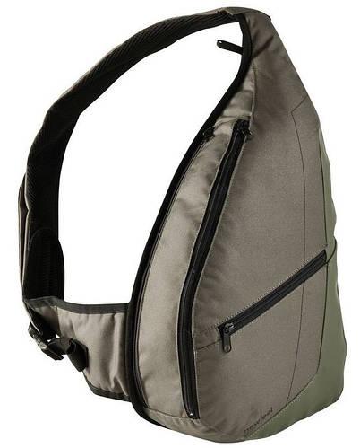 Городской современный однолямочный рюкзак 10 л. NEWFEEL (НЬЮФИЛ) CORBEN 1650721 хаки