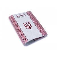 Патріотична обкладинка на паспорт -Вишиванка-