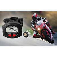 TPMS система контроля давления в шинах для мотоцикла с беспроводным внешним сенсорным дисплеем ЖК