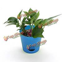 Для хранения воды круглый цветочный горшок сад офис растение в горшке вазон