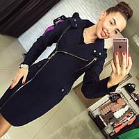 Женское стильное демисезонное пальто (3 цвета)
