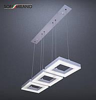 Подвесная светодиодная люстра Sofi Milano Francesco III chrom 4000k