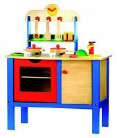 Детская кухня с аксессуарами Деревянные развивающие игрушки
