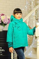 Деми куртка для девочки- новинка 2016