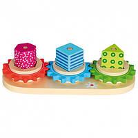 """Игра планшет """"Замкнутый круг"""" Трио Деревянные развивающие игрушки"""
