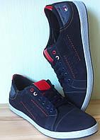 Tommy Hilfiger мужские Классные осенние кеды нубук туфли обувь