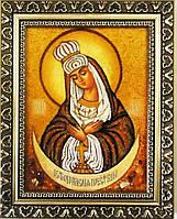 Икона Божией Матери малого размера