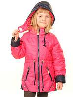 Детская куртка- жилетка для девочки Осень 2016