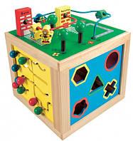 Кубик Моторика Деревянные развивающие игрушки