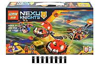 Детский конструктор Lepin Nexo knights 14004 - Безумная колесница Укротителя, 334 детали