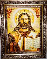 Икона Господь Вседержитель в красивой раме