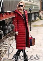 Очень теплое стеганое пальто на синтепоне