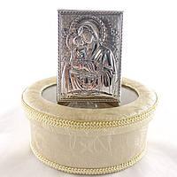 Икона Почаевская на деревянной основе