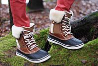 Crocs Women's AllCast Luxe Duck Boot, оригинал Крокс ботинки, сапоги