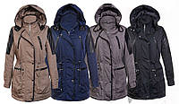 Теплая женская куртка парка