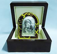 Икона Глинская в деревянной шкатулке