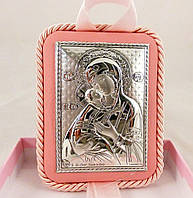 Икона Владимировская на подушечке