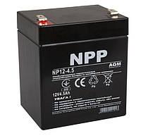 Аккумуляторная батарея NPP 12V 4.5 AH (NP12-4.5) AGM,T1