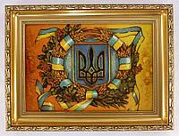 Картина Герб Украины 20*30 см