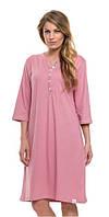 Сорочка, ночная рубашка женская большого размера Dobra Nocka 9136 хлопковая