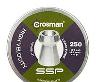 Пульки Crosman Lead Free Hollow Point 4.5 мм 250 шт. LF177HP