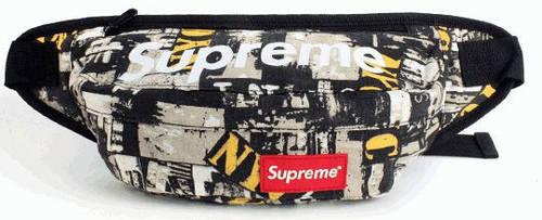 Неординарная спортивная сумка на пояс Supreme 135, разные цвета