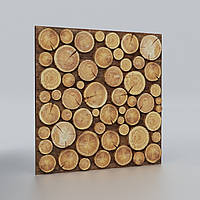 Декоративная 3D панель Wood Birch