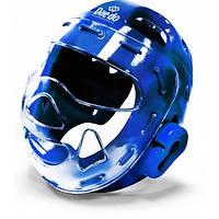 Шлем для тхеквондо Daedo Blue (PRO20915) с защитной маской