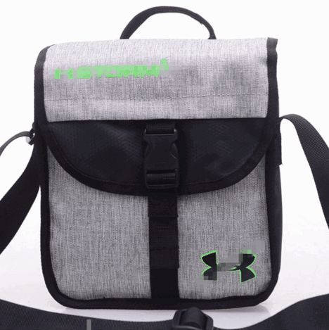 Качественная спортивная сумка мессенджер через плечо Under Armour Storm1 Pro 171, серый
