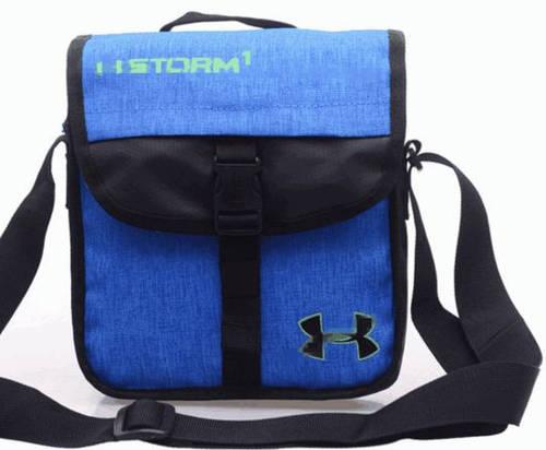 Стильная спортивная сумка мессенджер через плечо Under Armour Storm1 Pro 172, синий