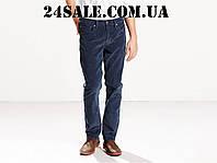 Вельветовые джинсы Levi's 511 Slim Fit Rinsed Corduroy Pants, Rinsed dress blues