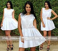 Батистовое платье на лето