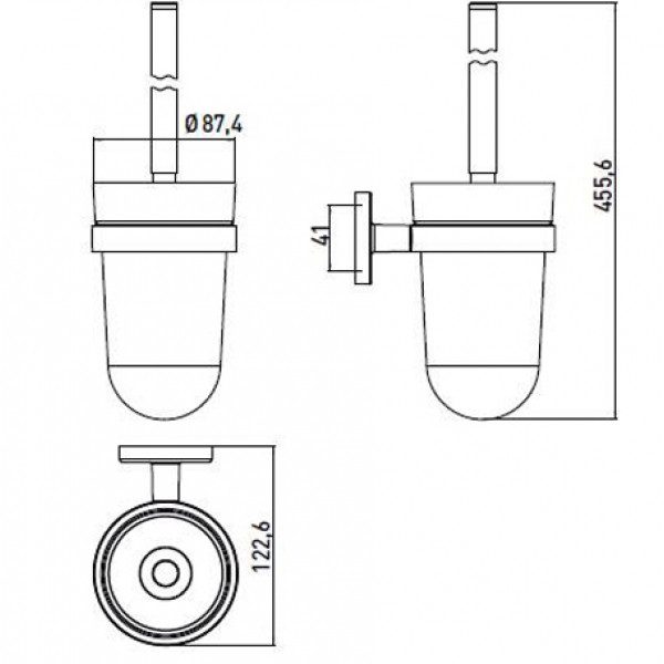 emco Emco Туалетный ершик Emco Polo 0715 001 00