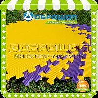 Детский коврик для ползания модульный (6 элементов)