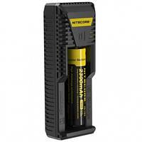 Зарядное устройство Nitecore Intellicharger i1 (1 канал + порт для зарядки электронных сигарет) (6-1170)
