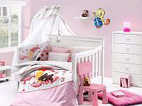 Постельное белье с набором для новорожденных First Choice Happy Baby Sleeper Pembe бамбук
