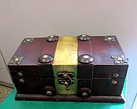 Сундук пиратский деревянный средний