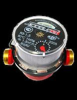 Счетчик на воду в частном доме Луцк КВ-1,5 для горячего водоснабжения, 0,03-3,0 м3/час, штуцерный