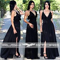 Роскошное вечернее платье с декольте