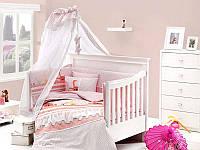 Постельное белье с набором для новорожденных First Choice Happy Baby Ginny Pudra бамбук