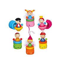 Футляр для молочных зубов Пират, Фея Деревянные развивающие игрушки